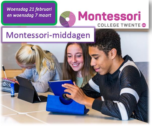 Opgave Montessorimiddag (groep 8)