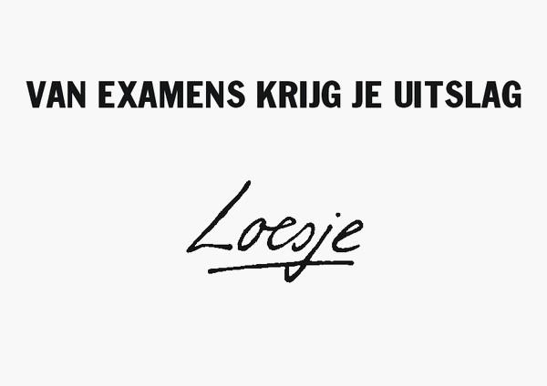 De examens van het eerste tijdvak zitten erop!