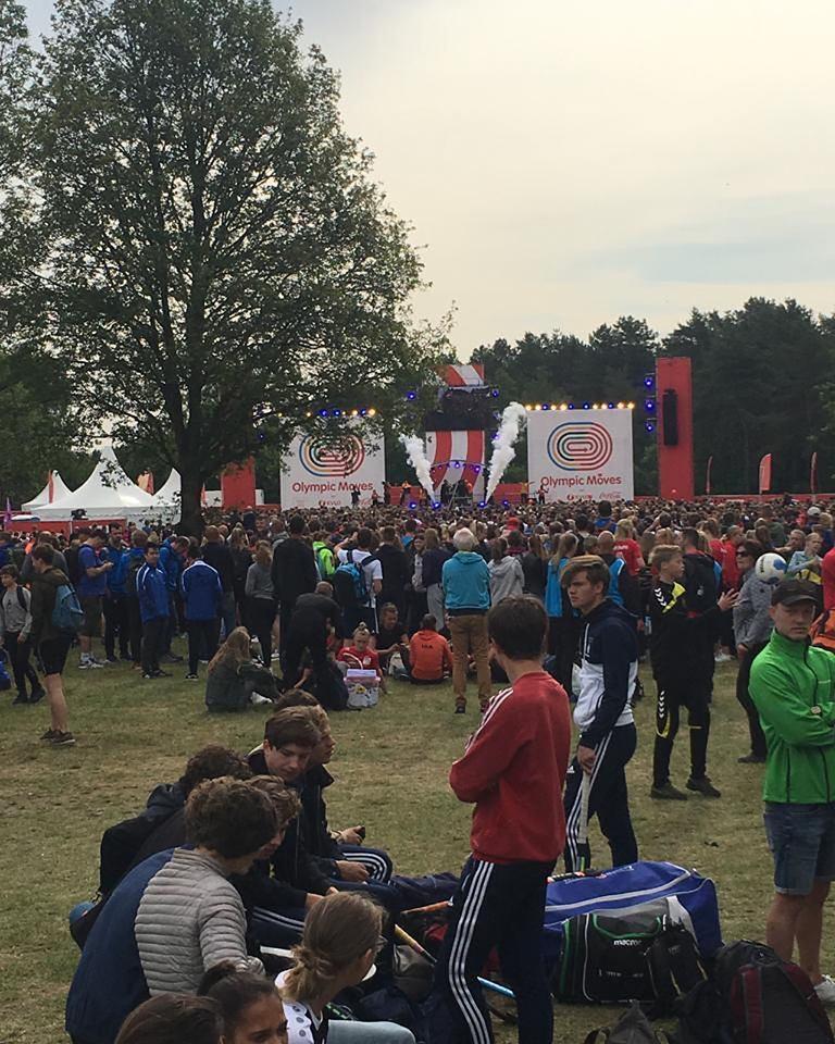 Handbalmeiden Montessori College Twente 2e van Nederland!!