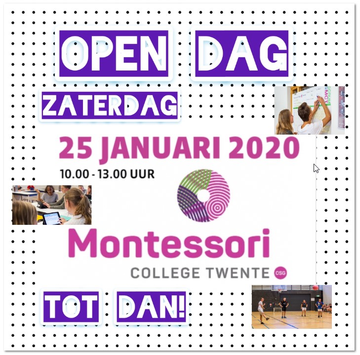 Open Dag 25 januari